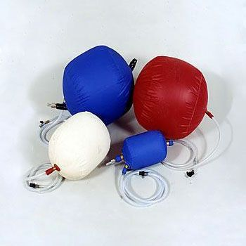100mm / 4 Inch Canvas Inflatable Air Bag with 1.8m Hose